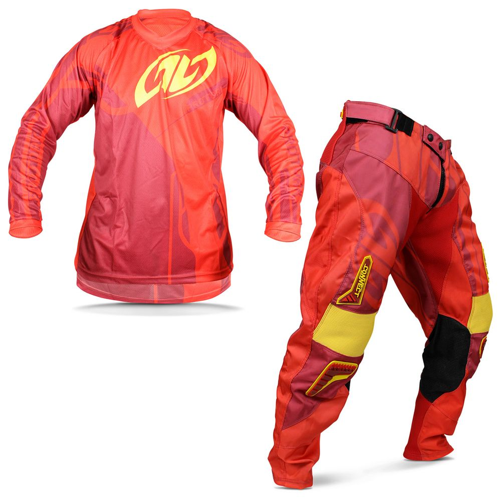Kit Roupa Motocross Pro Tork Connect Solid Spice Camisa M Calça 42 Vermelho 97493c8fcbaad