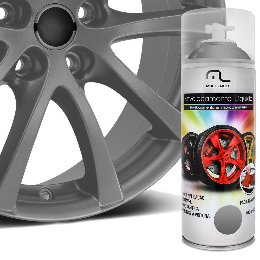 Spray envelopamento l quido multiuso rodas prata connect - Pintura en spray para plastico ...
