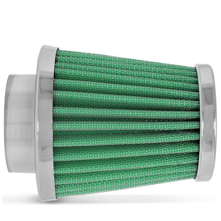 Filtro-Ar-Esportivo-Race-Chrome-Monofluxo-62mm-Verde-connectparts--1-