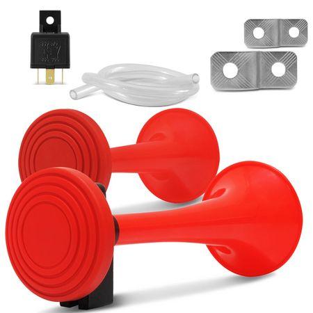 Buzina-2-Cornetas-Vermelhas-24V-VOX-2P-connectparts--1-
