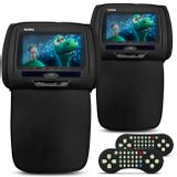 Par-Tela-Encosto-Cabeca-7-Polegadas-Preto-com-Ziper-DVD-USB-SD-HDMI-AUX-Game-Controle-Connect-Parts--1-