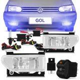 Kit-Farol-Milha-Gol-Bola-G2-95-96-98-97-99---Kit-Xenon-H3-8000K-connect-parts--1-