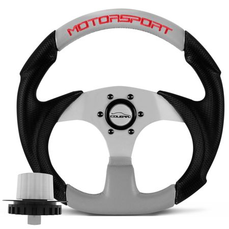 kit-Volante-Esportivo-Cougar-Motorsport-Preto-Prata---cubo-3320-connect-parts--1-