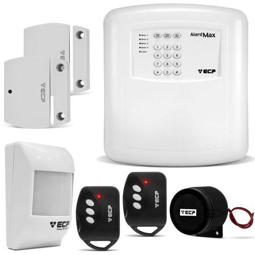Kit-Alarme-Casa-Residencial-Comercial-ECP-Alard-Max-4-Central-Sensor-Infravermelho-Sirene-connectparts--1-