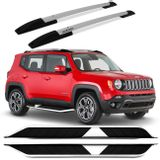 kit-Longarina-Rack-Teto-Projecar-Jeep-Renegade-15-16-Prata---Estribo-Aluminio-Preto-connect-parts--1-