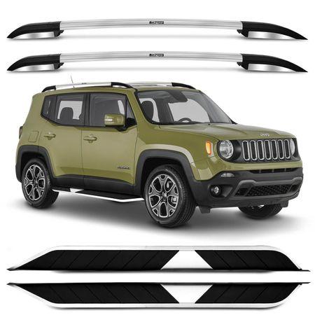 kit-Rack-Teto-Bepo-Elite-Jeep-Renegade-15-16-Sport-Cromado-Polido---Estribo-Aluminio-Preto-Connect-Parts--1-