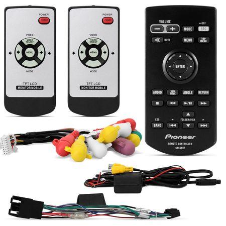 DVD-Player-Pioneer-AVH-3880-Retratil-USB---Par-Telas-Encosto-Cabeca-7-Polegadas-Preto-connect-parts--1-