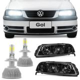Farol-Gol-Saveiro-Parati-G3-Mascara-Negra-Tuning-Foco-Duplo---Super-Led-3D-H7-Connect-Parts--1-