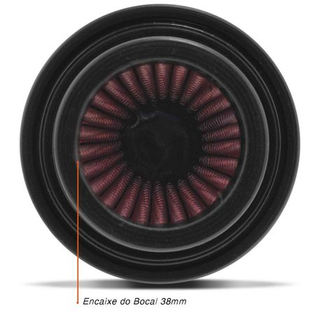 Filtro-Esport-38Mm-Titan-Yes-Intruder-Ybr-Xtz-125-Cb500-2-Shineray-Factor-Mirage-Neo-Vermelho-connectparts--4-
