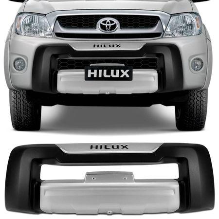 Overbumper-Hilux-SR-SRV-09-a-11-Preto-com-Prata-Front-Bumper-connectparts--1-