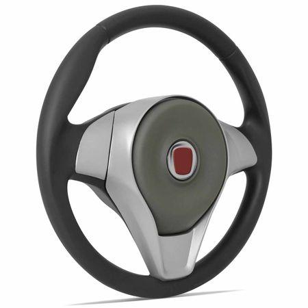 Volante-Palio-Attractive-Grafite-Prata---Cubo-Idea-Punto-Novo-Uno-Strada-Palio-e-outros-Fiat-Connect-Parts--1-