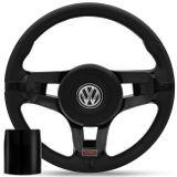 Volante-Jetta-Preto-Turbo---Cubo-Gol-Saveiro-Parati-G1-Fusca-Passat-Voyage-Kombi-Golf-Connect-Parts--1-