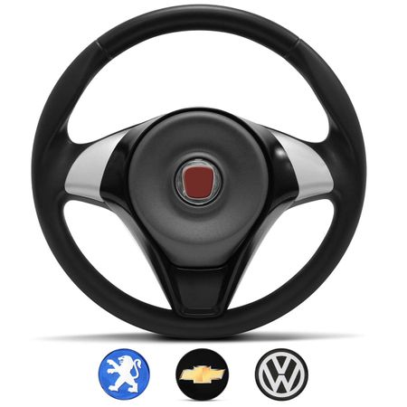 Volante-palio-sporting-preto-com-4-emblemas-vw-gm-fiat-peugeot-UNIVERSAL-Connect-Parts--1-