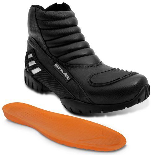 Bota-Motociclista-Street-Shutt-Cano-Curto-Preto-Couro-Ziper-Velcro-Protetor-de-Marcha-Aplique-Refletivo-Connect-Parts--1-