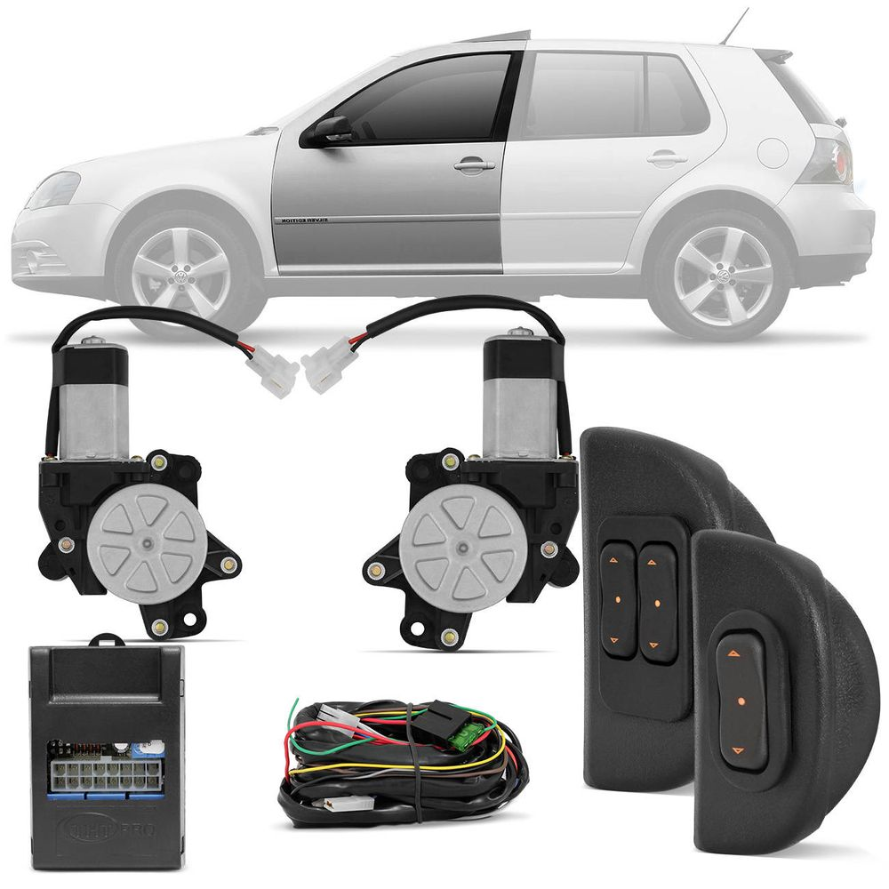 8a1d48559af1c Kit-Vidro-Eletrico-Sensorizado-Polo-Golf-connect-parts ...