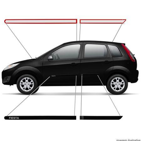 Jogo-Friso-Lateral-Fiesta-Hatch-Sedan-11-a-14-Preto-Ebony-Tipo-Borrachao-Connect-Parts--5-