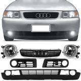 Saia-Spoiler-Para-Choque-Audi-A3-01-02-03-04-05-06---Farol-de-Milha---Moldura-do-Milha---Grade-connect-parts--1-