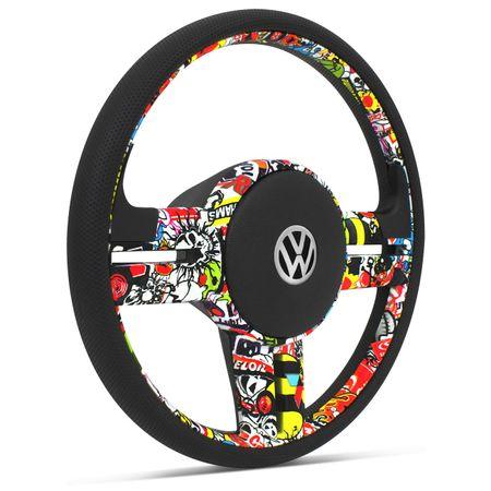 Volante-Esportivo-Rallye-Bomber-Stick---Cubo-Gol-Saveiro-Parati-G1-Fusca-Passat-Voyage-Kombi-Golf-Connect-Parts--1-