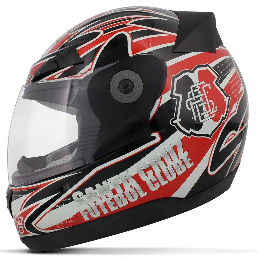 534257803709d Capacete para moto Oficial do time Santa Cruz Pro Tork 788 3G ...