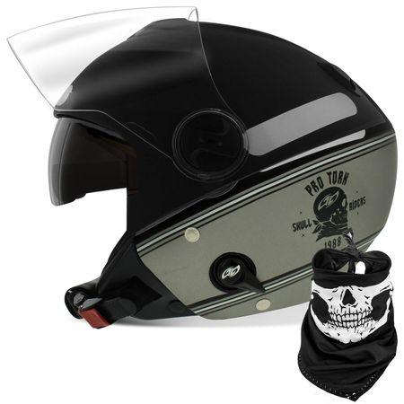 Capacete-New-Atomic-Skull-Riders-Prata-Preto-Cor-Fosca-connectparts--1-