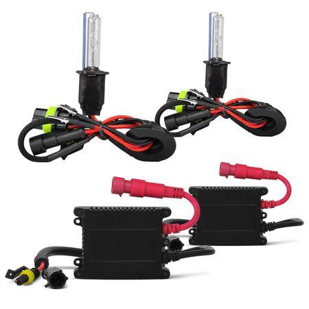 DVD-Player-Pioneer-Retratil-7-Polegadas-USB-AVH-3880---Kit-Xenon-H3-6000k-connect-parts--1-