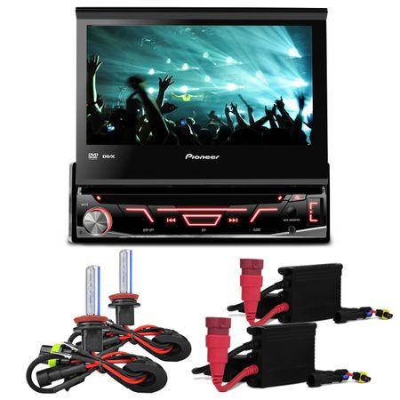 DVD-Player-Pioneer-Retratil-7-Polegadas-USB-AVH-3880---Kit-Xenon-HB4-6000-K-connect-parts--1-