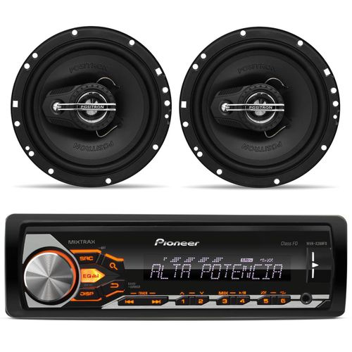 Mp3-Player-Pioneer-Mvh-x288fd---Par-alto-falante-Positron-6-poltriaxial-120w-rms-total-connect-parts--1-