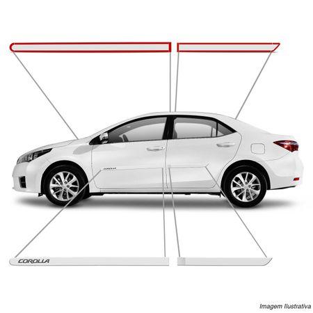 Jogo-Friso-Lateral-Corolla-08-09-10-11-12-13-14-15-Branco-4-Portas-Tipo-Borrachao-Connect-Parts--5-