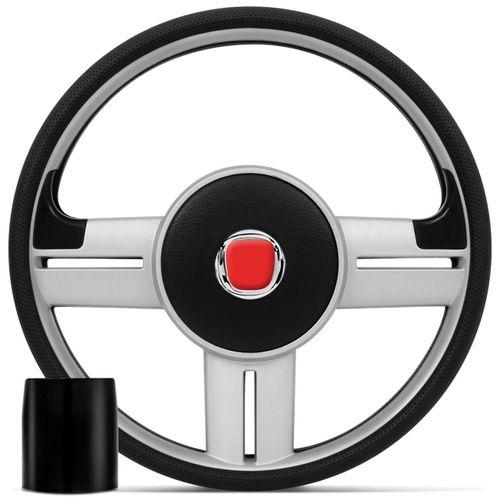 Volante-Esportivo-Rallye-Super-Surf-Prata-com-Cubo-para-Linha-Fiat-95-a-04-connect-parts--1-