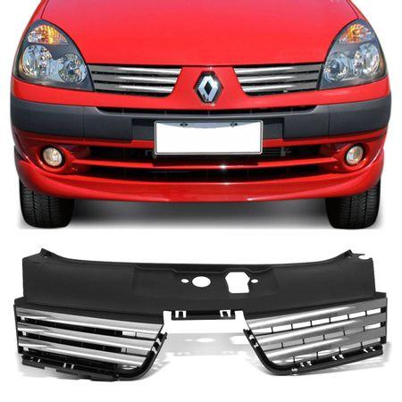 Grade-Tuning-Clio-Hatch-e-Sedan-2003-ate-2005-com-Friso-Cromado-connect-parts--1-