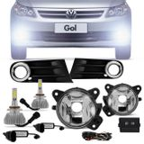 Kit-Farol-Milha-Gol-Voyage-Saveiro-G5-09-a-13---Par-Lampada-LED-Headlight-HB4-6000K-Connect-Parts--1-
