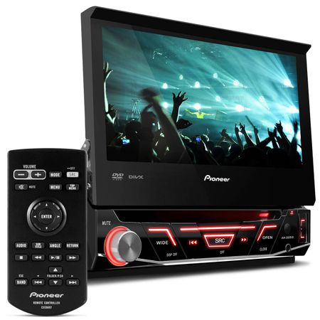 DVD-Player-Pioneer-Retratil-7-Polegadas-USB---Par-Alto-Falantes-Bomber-6x9-Polegadas-250W-RMS-connect-parts--1-