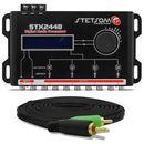Processador-de-Audio-Digital-Stetsom-STX2448---Cabo-RCA-Tech-One-Duplo-5-Metros-connect-parts--1-