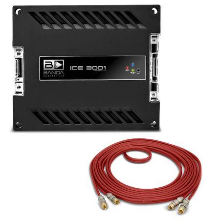 Par-Subwoofer-Magnum-REX-12-1300W-RMS---Modulo-Banda-Ice-3000W-RMS-1-Ohm---Cabo-RCA-Stetsom-connect-parts--1-