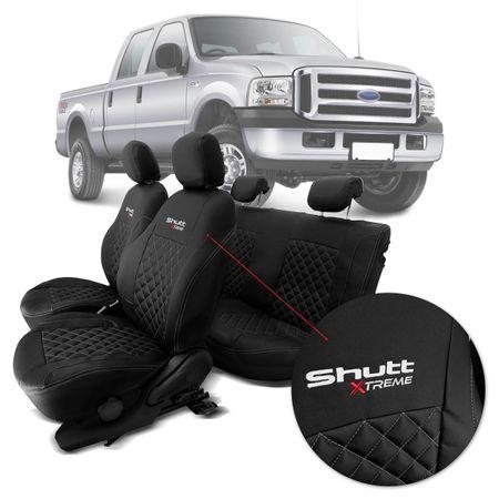 Capa-de-Banco-Shutt-Xtreme-Ford-F250-CD-1999-2011-5-Lugares-Esportiva-Couro-Eco-Preta-connectparts--1-