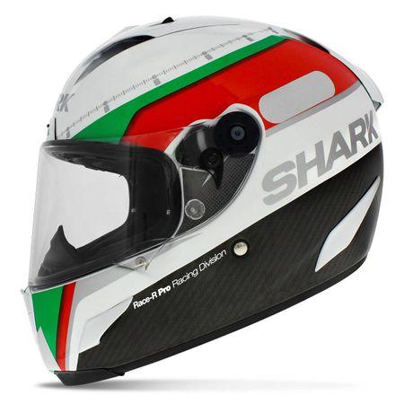 Capacete-Fechado-Shark-Race-R-Pro-Carbon-Divison-Wgr-Branco-Verde-Vermelho-connectparts--2-