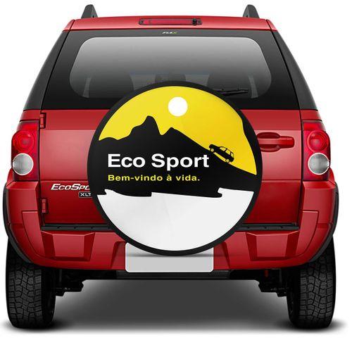 Bem Vindo Sport: Capa De Estepe Ecosport Bem Vindo Amarelo