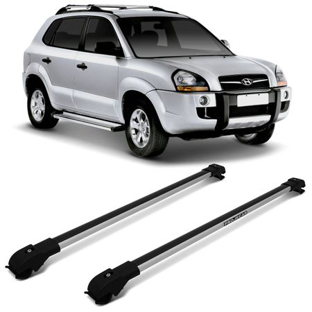 Rack-de-Teto-Hyundai-Tucson-04-a-17-Prata-Carga-45-Kg-Em-Aluminio-Resistente-Travessa-Slim-connectparts--1-