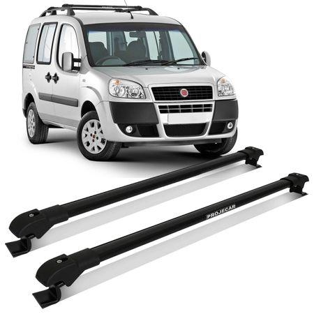 Rack-de-Teto-Fiat-Doblo-01-a-17-Preto-Carga-45-Kg-Em-Aluminio-Resistente-Transversal-Travessa-Slim-connectparts--1-