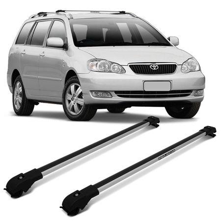 Rack-de-Teto-Corolla-Fielder-05-a-08-Prata-Carga-45-Kg-Aluminio-Resistente-Transversal-Travessa-Slim-connectparts--1-