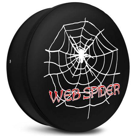 Capa-de-Estepe-Troller-T4-98-a-17-Teia-de-Aranha-Web-Spider-Preto-Branco-e-Vermelho-Com-Cadeado-connectparts--3-