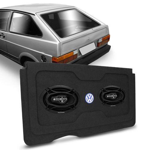Kit-Tampao-Bagagito-VW-Gol-G1-80-a-95---Par-Falante-Positron-Triaxial-6x9-Polegadas-160W-RMS-4-Ohms-connect-parts--1-