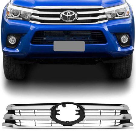 Grade-Hilux-SRV-SRX-16-17-Dianteira-Para-Choque-Cromada-com-Espaco-para-Emblema-connectparts--1-