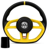 Volante-Modelo-Golf-GTI-Amarelo-Vision---Cubo-Gol-Saveiro-Santana-Parati-Golf-Polo-Fox-Fusca-89-a-14-Connect-Parts--1-