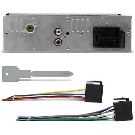 Mp3-Player-Hurricane-Hr-412-Usb---Kit-Alto-Falante-Triaxial-Foxer-6-Polegadas-180W-Fox-Connect-Parts--1-