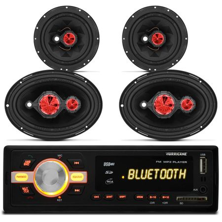Mp3-Player-Hurricane-Hr-420-Bluetooth-Usb---Par-Alto-Falante-Orion-Pentaxial-6x9-Polegadas-connect-parts--1-
