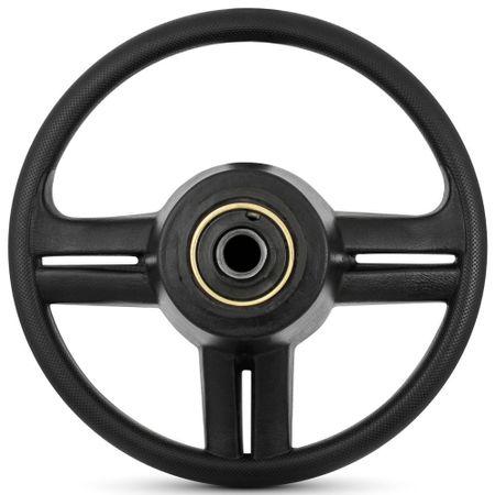 Volante-Esportivo-Rallye-Super-Surf-Preto-com-Prata-com-Acionador-de-Buzina-e-Cubo-Connect-Parts--1-