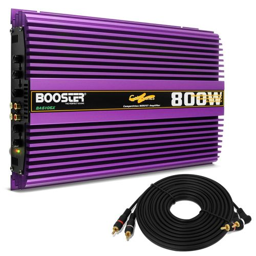 Amplificador-Booster-BA-610GX-Gold---Cabo-RCA-5-Metros-Banhado-a-Ouro-connect-parts--1-