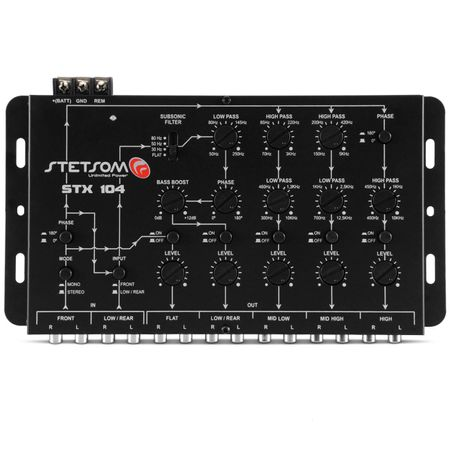 Crossover-Stetsom-STX-104---Controle-SX-2-Connect-Parts--2-