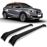 Rack-de-Teto-Travessa-Larga-Nissan-kicks-17-Preto-Carga-45-Kg-Aluminio-Resistente-connectparts--1-